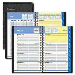 At-A-Glance Weekly/Monthly Appointment Book, Hourly Ruled, One Week/Spread