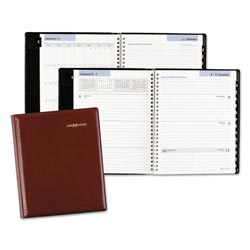 At-A-Glance Executive Weekly/Monthly Planner, 6 7/8 x 8 3/4, Burgundy, 2017