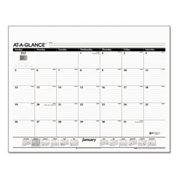 At-A-Glance Desk Pad Refill, 22 x 17, 2017