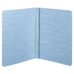 Acco Presstex® Pressboard Report Cover with Reinforced Hinges, Blue, Each
