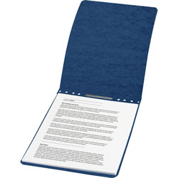 Acco Report Cover with Top Binding, Blue, Each
