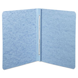 Acco Pressboard Report Cover with Reinforced Hinges, Blue, Each