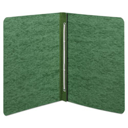 Acco Pressboard Report Cover with Reinforced Hinges, Green, Each