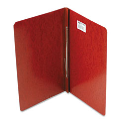 Acco Presstex® Pressboard Report Cover with Reinforced Hinges, Red, Each
