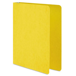 "Acco 19% Recycled Presstex&reg Round Ring Binder, 1"" Capacity, Yellow"
