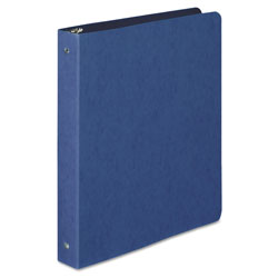 "Acco 19% Recycled Presstex&reg Round Ring Binder, 1"" Capacity, Blue"