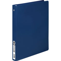 "Acco 25% Recycled Ring Binder, 1/2"" Capacity, Blue"