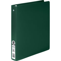 "Acco 25% Recycled Ring Binder, 1"" Capacity, Green"