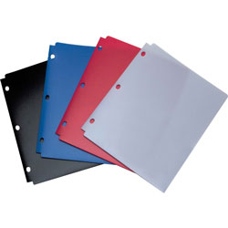 Acco Snapper™ Pocket Folder, Assorted Colors