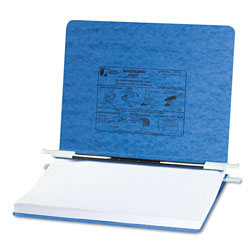 Acco Pressboard Hanging Data Binder for 11 3/4 x 8 1/2, Light Blue