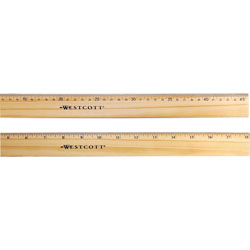 "Westcott® 18"" Ruler Double Metal Edge"