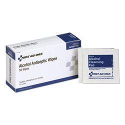 Physicians Care Alcohol Pads, 50 Pads per Box