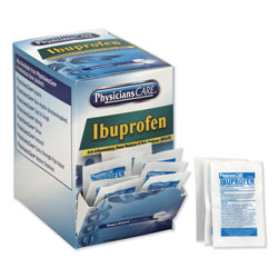 Physicians Care Ibuprofen Medication, Two-Pack, 200mg, 50 Packs/Box