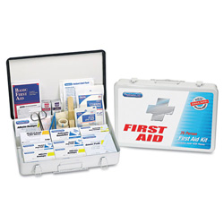 Physicians Care First Aid Kit for 50 People, 419 Pieces, OSHA/ANSI Compliant, Metal Case