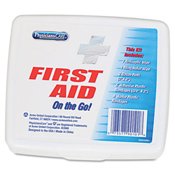 Physicians Care First Aid On the Go Kit, Mini