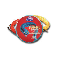 "Acme Automotive Blue Flexeel Reinforced Polyurethane Straight Air Hose 3/8"" x 50"" , 1/4"" MPT"
