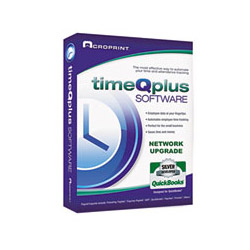 Acroprint Time Recorder TimeQplus Time & Attendance Software