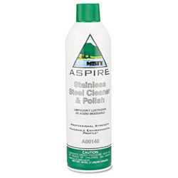 AmRep Aspire Stainless Steel Cleaner And Polish, 16 Ounce