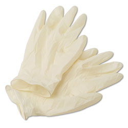 Ansell 69318XL White XT Premium 5 Mil Latex Gloves, Extra Large