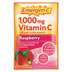 Alacer Corp. Immune Defense Drink Mix, Raspberry, 0.3 oz Packet, 50/Pack