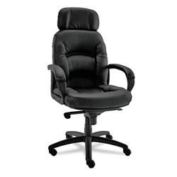 Alera Nico High Back Swivel/Tilt Chair, Black