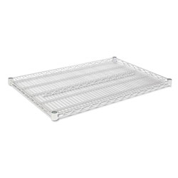 "Alera Wire Shelves, 36"" x 24"", Silver"
