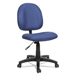 Alera Essentia Series Swivel Task Chair, Blue