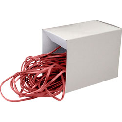 "Alliance Rubber Rubberband, Medium, 12"", Red"