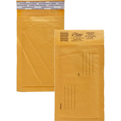 "Alliance Rubber Envelopes #000, Self Sealing, Bubble Cushioned, 4"" x 8"""