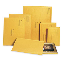 "Alliance Rubber Envelopes #1, Self Sealing, Bubble Cushioned, 7 1/4"" x 12"""
