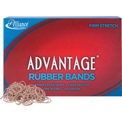 "Alliance Rubber Rubber Bands, Size 10, 1 lb., 1 1/4"" x 1/16"", Advantage"