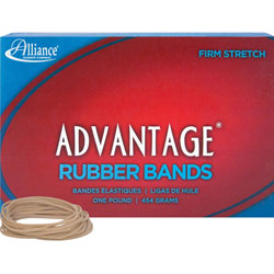 "Alliance Rubber Rubber Bands, Size 18, 1 lb., 3"" x 1/16"", Advantage"