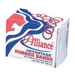 "Alliance Rubber Rubber Bands, Size 31, 1 lb., 2 1/2"" x 1/8"", Advantage"