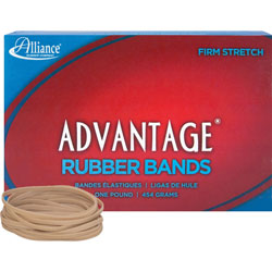 "Alliance Rubber Rubber Bands, Size 33, 1 lb., 3 1/2"" x 1/8"", Advantage"