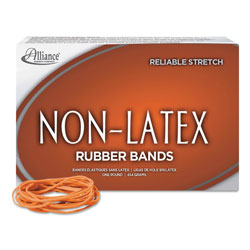 Alliance Rubber No. 19 Sterling Latex-Free Rubber Bands