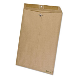 Ampad Earthwise 100% Recycled Paper Envelope, Side Seam, 10 x 13, Brown, 110/Box