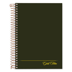 Ampad Gold Fibre Personal Notebook, College/Medium, 5 x 7, Classic Green, 100 Sheets