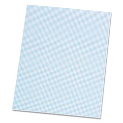 Ampad Quadrille Pads, 8 Squares/Inch, 8 1/2 x 11, White, 50 Sheets