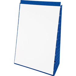 Ampad Tabletop Flip Chart Easel, Unruled, 20 x 28, White, 20 Sheets