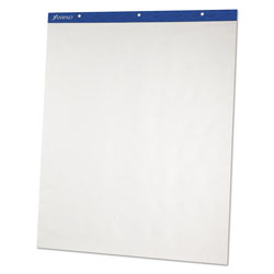 Ampad Flip Charts, Unruled, 27 x 34, White, 50 Sheets, 2/Pack