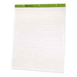 "Ampad Flip Charts, 1"" Ruled, 27 x 34, White, 50 Sheets, 2/Pack"