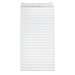 Ampad Earthwise Recycled Reporter's Notebook, Legal/Wide, 4 x 8, White, 70 Sheets