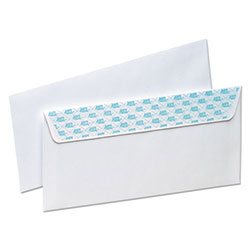 Ampad SafeSeal Security Envelope, Self-Adhesive, #10, White, 100/Box