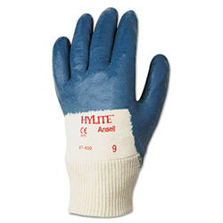 Ansell Hylite® Multipurpose Work Gloves, Size 9