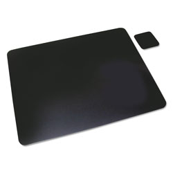 Artistic Office Products Leather Desk Pad, 20 x 36, Black