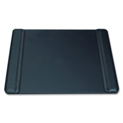 "Artistic Office Products Pad, w/Side Panels, Anti-skid/Anti-scratch Btm, 19"" x 24"" x 1/4"", BK"