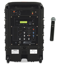 Amplivox Titan Wireless Portable PA System, 100W Amp