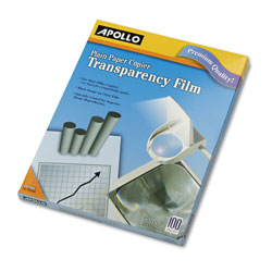 Apollo PP100C Plain Paper Copier Transparency Film