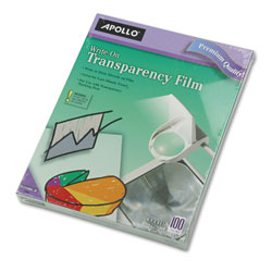 Apollo WO100CB Write On Transparency Film