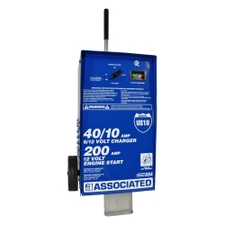 Associated Equipment 40 Amp Wheel Charger